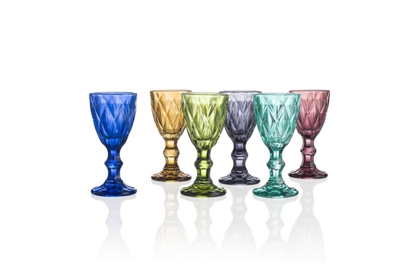 Calici da degustazione bicchieri da tavola e calici in vetro e cristallo - Disposizione bicchieri a tavola ...