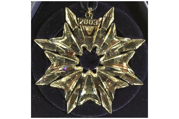 Art. 622498 Stella di Natale 2003 Swarovski