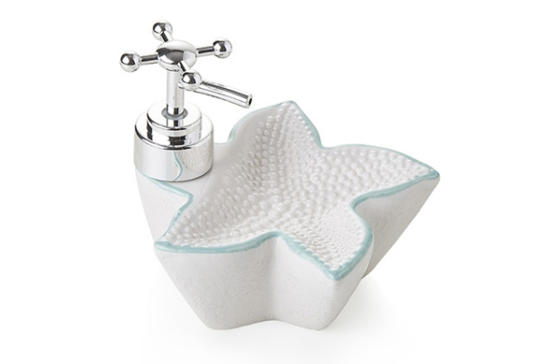 Dispencer per sapone in ceramica *Starfish*