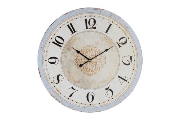 Orologio da parete VINTAGE CELESTE 60cm