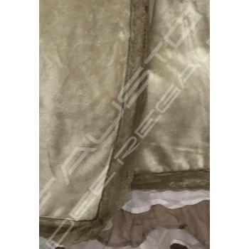 """Plaid """"Charme"""" 160 x 210 cm color Beige"""