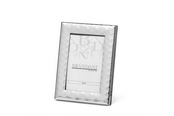 Portafoto CUBO silver plated 10x15cm