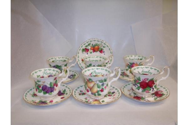 Set 6 tazze caffè Covent Garden Royal Albert