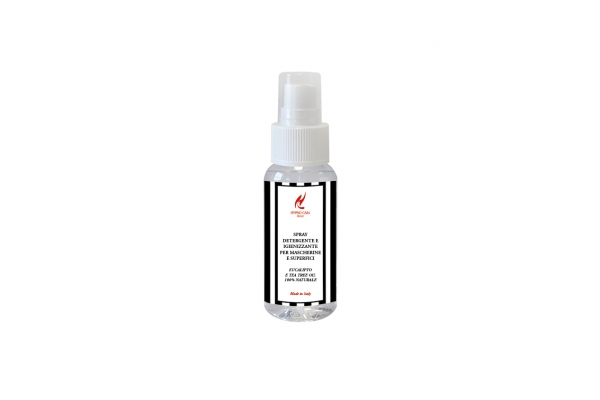 Spray Detergente e Igienizzante per Mascherine 50ml
