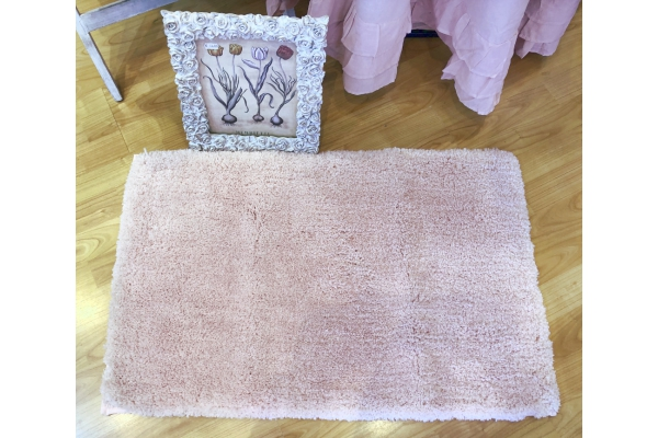 Tappeto da bagno 50x80cm *Fluffy Dream* rosa