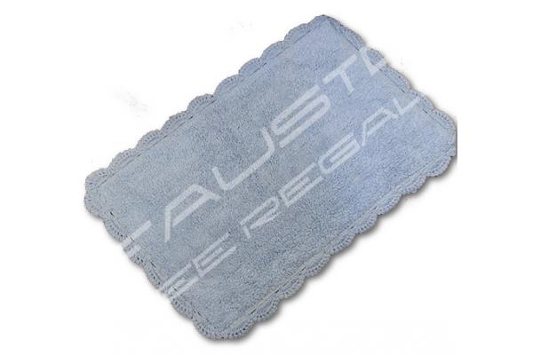 Tappeto Viviane Shabby Chic 50x80cm azzurro