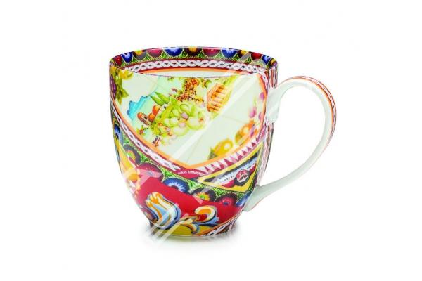 """Tazza mug in porcellana Collezione """"Santa Rosalia"""""""