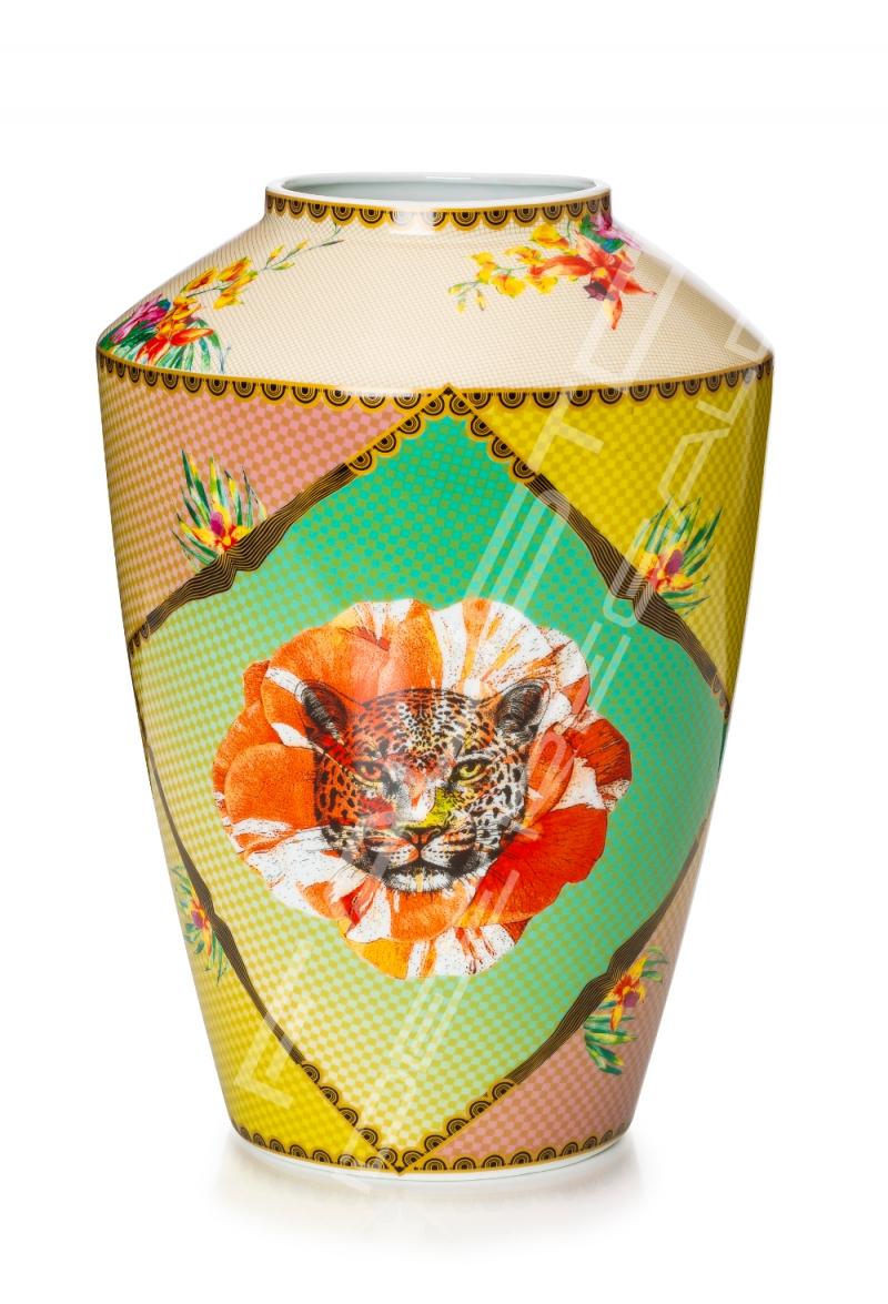 "Vaso in porcellana Collezione ""Été Savage"""