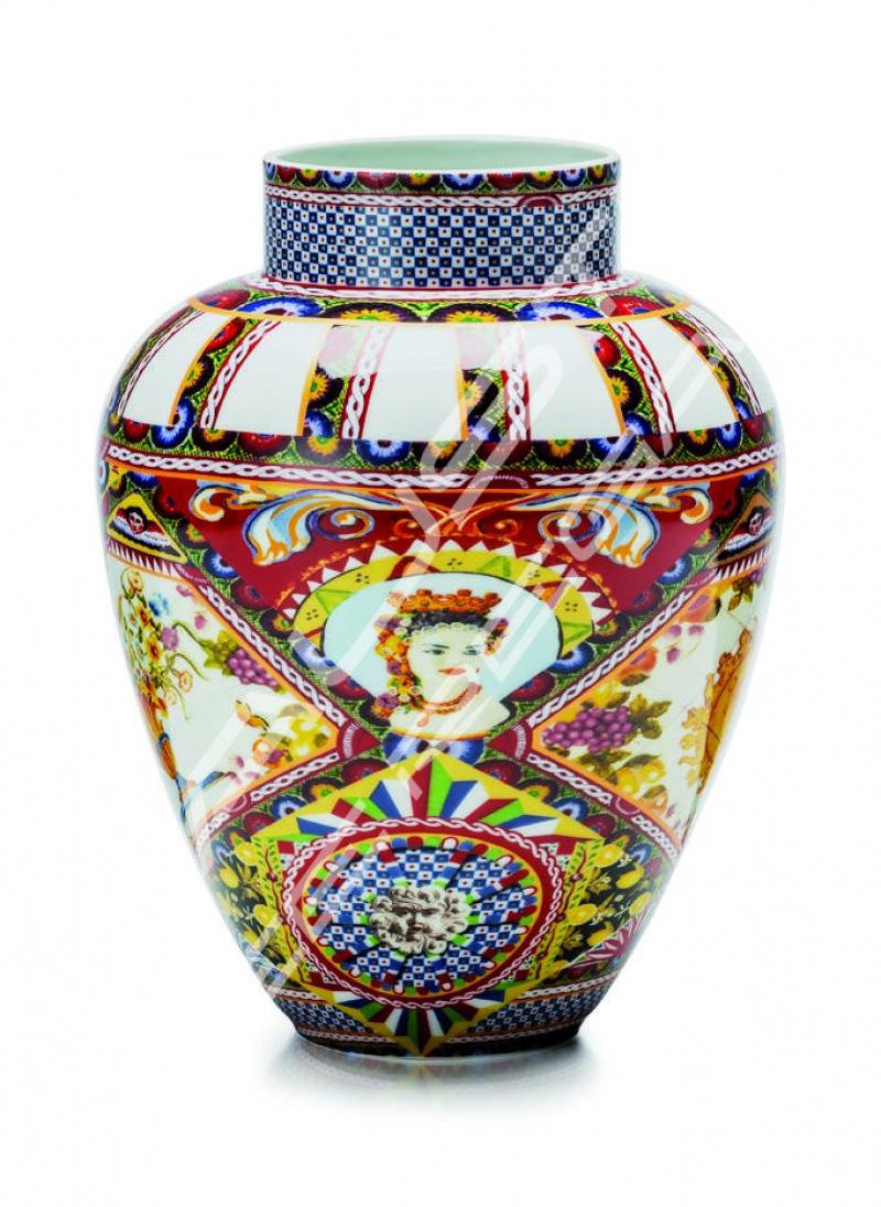 """Vaso in porcellana Collezione """"Santa Rosalia"""""""